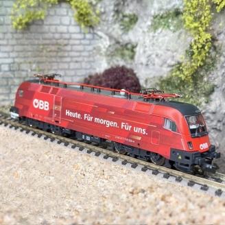 Locomotive 1116 225-4, ÖBB Ep VI - N 1/160 - FLEISCHMANN 781703