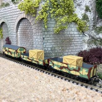 Coffret de train militaire 3 éléments DRB Ep II- N 1/160 - ARNOLD HN6490