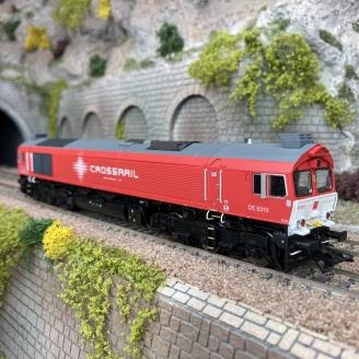 Locomotive JT42CWRM série 77 Crossrail Ep VI digital son 3R-HO 1/87-MARKLIN 39065