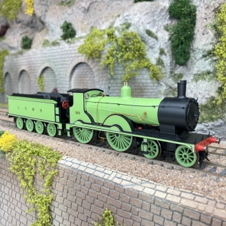 Locomotive LSWR, classe T9, 4-4-0, 120-00 1/76-HORNBY R3863