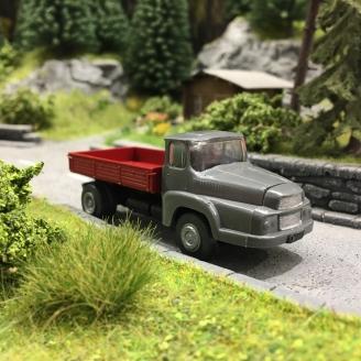 Camion Unic MZ, à plateau-HO-1/87-SAI 8311