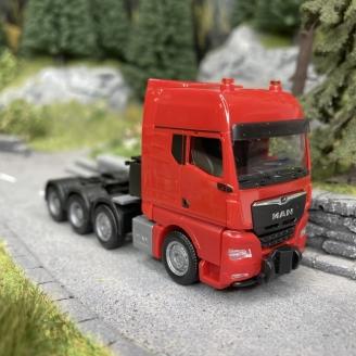 Camion MAN TGX GX Rouge-HO 1/87-HERPA 313520