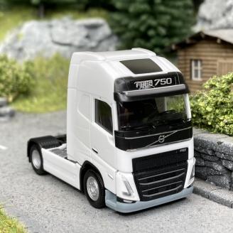 Volvo Tracteur FH16 750 Blanc-HO 1/87-HERPA 313346