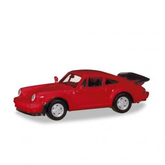 Porsche 911 Turbo Rouge Kit-HO 1/87-HERPA 13307002