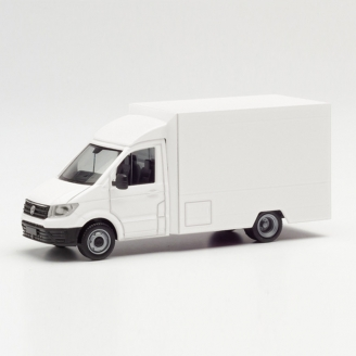 VW Crafter blanc Food truck Kit-HO 1/87-HERPA 13864