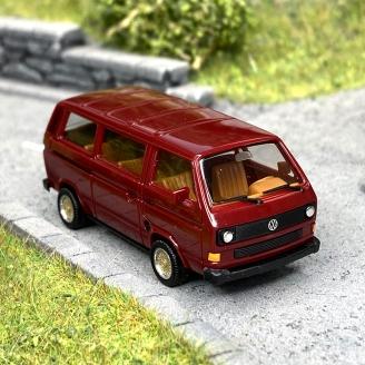 Volkswagen T3 bus bordeaux  -HO 1/87-HERPA 420914