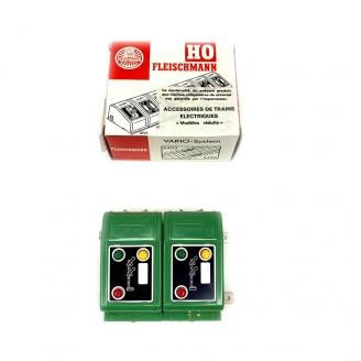 2 boitiers de commande signaux double palettes - FLEISCHMANN 6928 DEP255-049