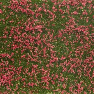 Tapis de feuillage sécable 12 x 18 cm Prairie Rouge-HO-1/87-NOCH 07257