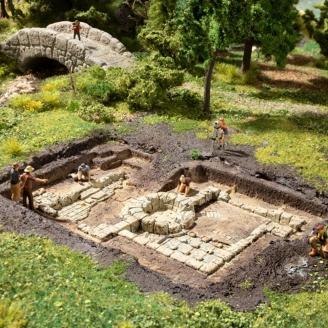 Fouilles Archéologiques - Vestiges Romains - HO 1/87 - NOCH 58615