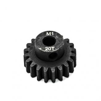 Pignon moteur M1 Ø5mm 20 dents en acier -  KONECT KN-180120