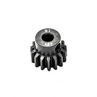 Pignon moteur M1 Ø5mm 15 dents en acier -  KONECT KN-180115