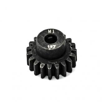 Pignon moteur M1 Ø5mm 19 dents en acier -  KONECT KN-180119