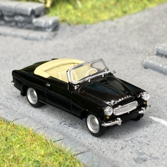 Skoda Felicia cabriolet noir -HO 1/87-BREKINA 27438