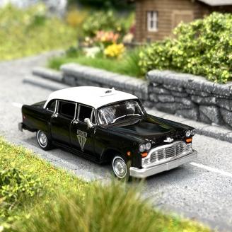 "Checker ""Winnipeg"" taxi noir/blanc -HO 1/87-BREKINA 58933"