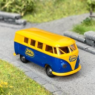 Volkswagen T1b Edeka bleu/jaune -HO 1/87-BREKINA 31609