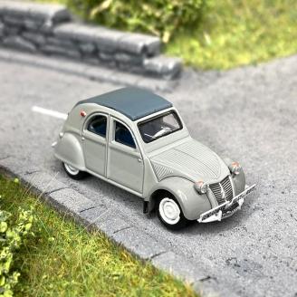 Citroën 2 CV AZLP 1958 grise, gendarmerie -HO 1/87-SAI 6020