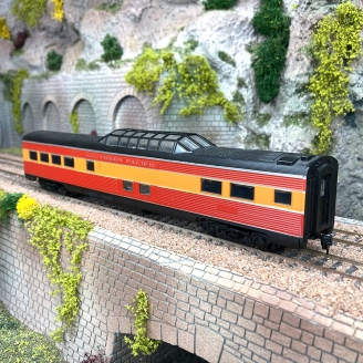 Voiture toit panoramique Southern Pacific US -HO 1/87- ATHEARN 1323 DEP103-515