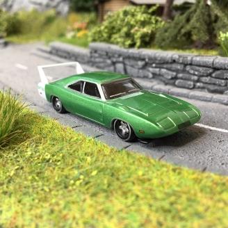 Dodge Charger Daytona Verte 1969-HO-1/87-OXFORD 33426
