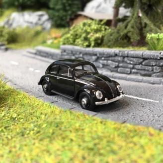 Volkswagen Coccinelle Split 1952 Noire-HO 1/87-BUSCH 52902