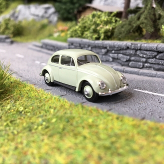 Volkswagen Coccinelle Ovale 1955 Verte-HO 1/87-BUSCH 52952