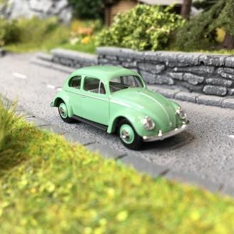 Volkswagen Coccinelle Split 1952 Verte-HO 1/87-BUSCH 52900