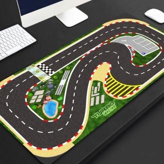 Tapis piste (40X90 CM) pour micro rally - 1/76 - TURBO RACING TB760020