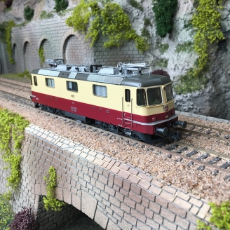 Locomotive Re 4/4ˡˡ 11251 SBB Ep IV-HO 1/87-ROCO 71406