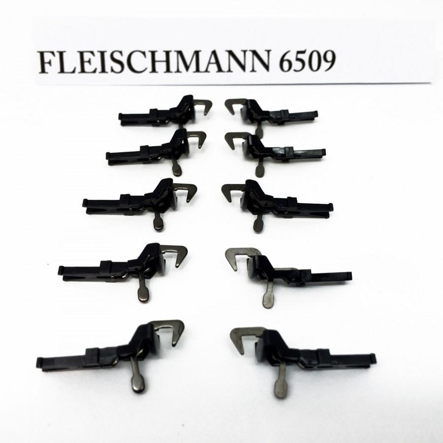 10 attelages crochet NEM-HO-1/87-FLEISCHMANN 6509