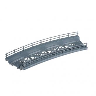 Tablier de pont, courbe-HO 1/87 -NOCH 21350