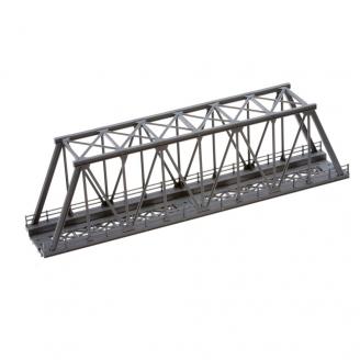 """Pont type """"caisson"""" métallique-HO 1/87 -NOCH 21320"""