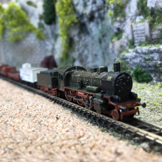 Train de marchandises K.P.E.V. Ep I - Z 1/220 - MARKLIN 81302