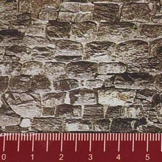 """Longue plaque """"Mur de granit"""" Souple-HO 1/87-NOCH 57700"""