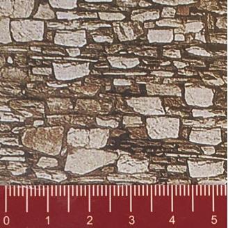 """Longue plaque """"Mur de Dolomite"""" Souple-HO 1/87-NOCH 57710"""