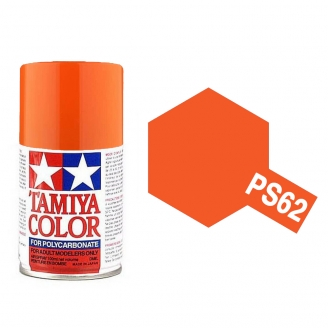 Orange Pur Polycarbonate Spray de 100ml-TAMIYA PS62