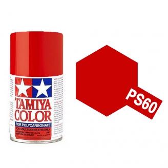 Rouge Mica Clair Polycarbonate Spray de 100ml-TAMIYA PS60