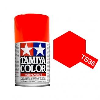 Rouge Fluo Spray de 100ml-TAMIYA TS36