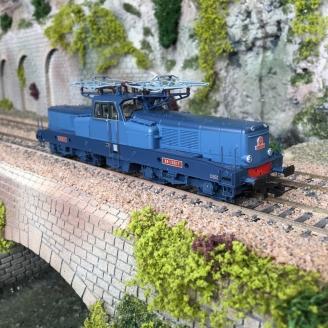 Locomotive BB 13017 livrée bleu SNCF Ep III digital son -HO 1/87-JOUEF HJ2336S