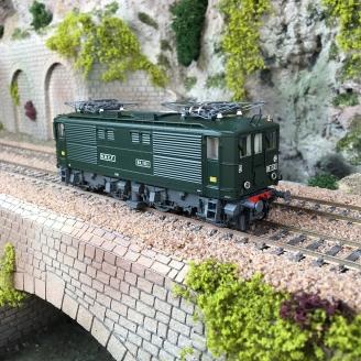 Locomotive BB 1521 SNCF livrée verte, Ep III digital son -HO 1/87-JOUEF HJ2384S