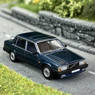 Volvo 740 Bleu Foncé Métal-HO 1/87-PCX870109