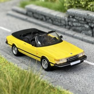 Saab 900 cabriolet Jaune -HO 1/87-PCX870125