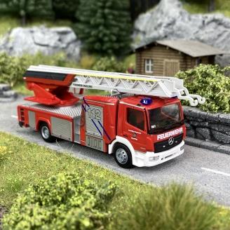 "Magirus DLK 32 Pompiers ""Ergolding""-HO 1/87-RIETZE 71635"