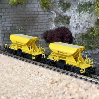 Coffret de 2 wagons à ballast, SBB Ep VI - N 1/160 - FLEISCHMANN 822920
