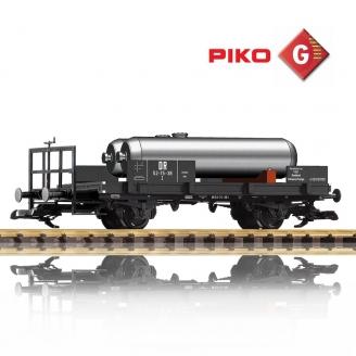 Wagon-citerne de secours à 2 essieux DR Ep III - G 1/22.5 - PIKO 37830