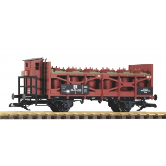 Wagon transport d'acide à 2 essieux DR Ep III - G 1/22.5 - PIKO 37962