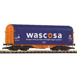 Wagon bâché à bogie Wascosa Ep VI - G 1/22.5 - PIKO 37748