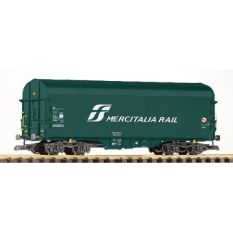Wagon bâché à bogie Mercitalia Rail Ep VI - G 1/22.5 - PIKO 37746