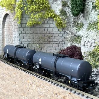 2 wagons-citernes VTG Ep IV - N 1/160 - FLEISCHMANN 825810