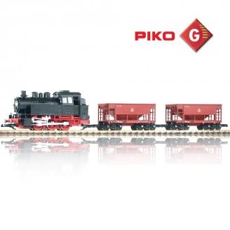 Coffret Train de Minerai DB BR80 - G 1/22.5 - PIKO 37100