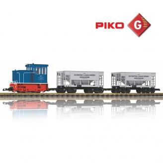 Coffret Train Industriel GE-25Ton - G 1/22.5 - PIKO 37151