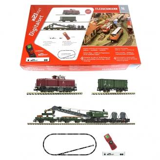 Coffret de démarrage digital diesel série 212 DB Ep IV-N 1/160-FLEISCHMANN 931899